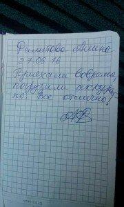 Отзыв от Фалитовой Алёны 27.06.2016 года. ГрузТакси24. 84957963464